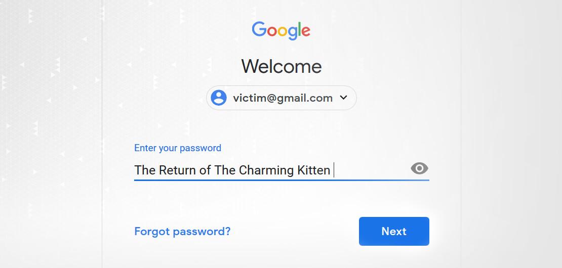 آخرین کمپین فیشینگ هدفمند هکرهای گروه بچه گربه جذاب